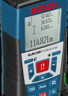 Лазерный дальномер Bosch GLM 150 Professional цена