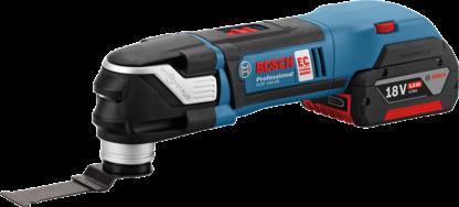 Мультитул аккумуляторный реноватор Bosch GOP 18V-28 Professional