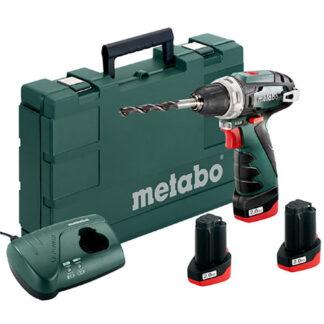 Metabo PowerMaxx BS Basic 2.0Ah x3 Case